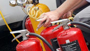 заверка на пожарогасител