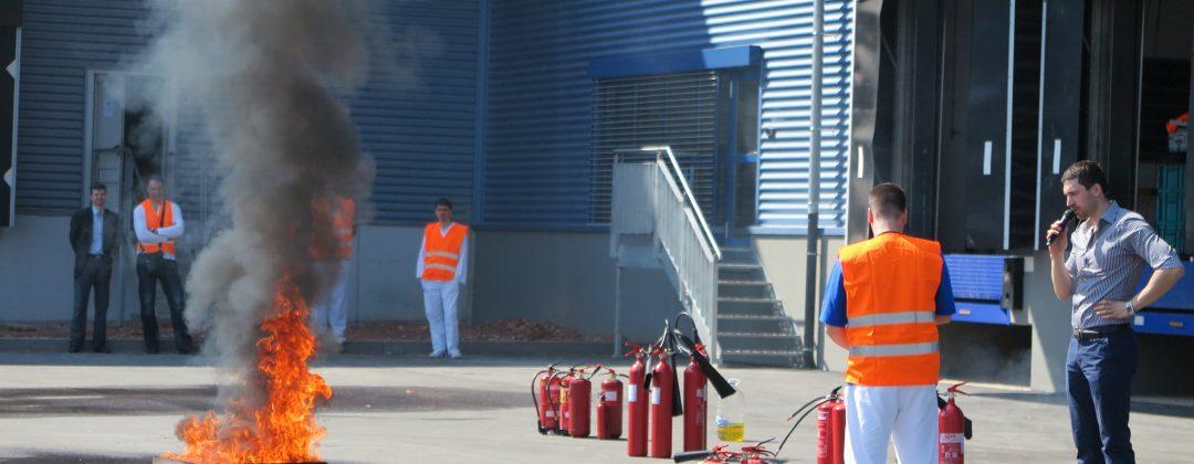 Провеждане на обучения по пожарна безопасност