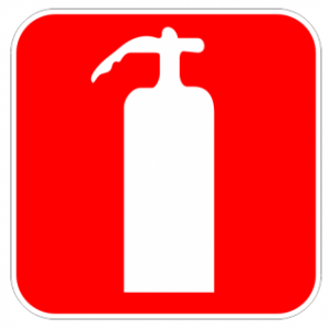Обозначителен стикер - пожарогасител