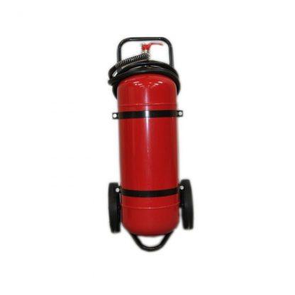 Прахов пожарогасител 50 кг. АВС
