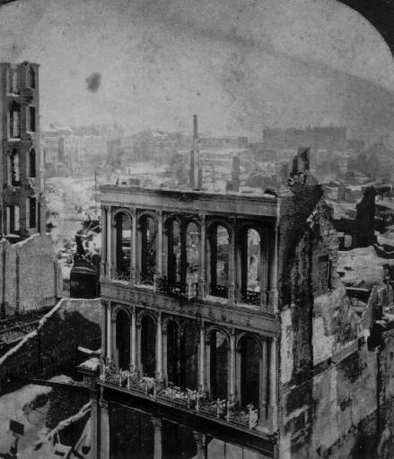 Пожарът в Бостън 1872