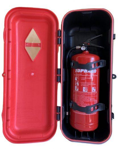Кутия за пожарогасител за ТИР