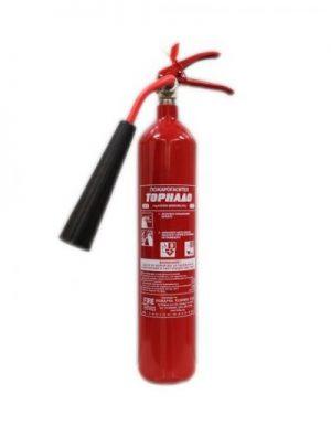 Пожарогасител Въглероден диоксид 2 кг.